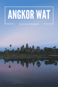 Our Angkor Wat Itinerary