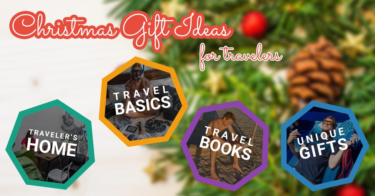 Christmas Gift Ideas for Travelers - Wandering the World